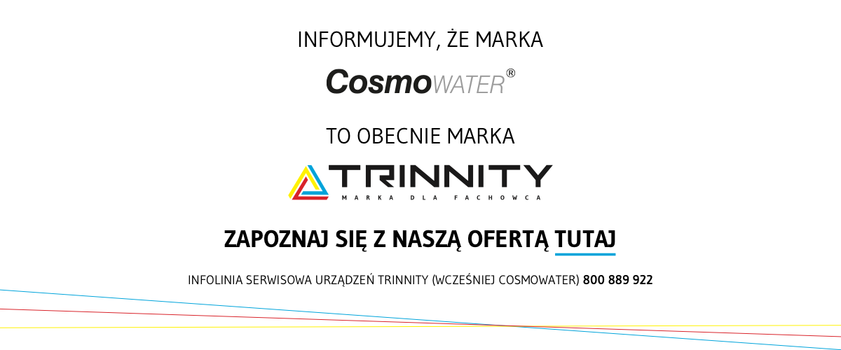 Marka CosmoWATER to obecnie TRINNITY